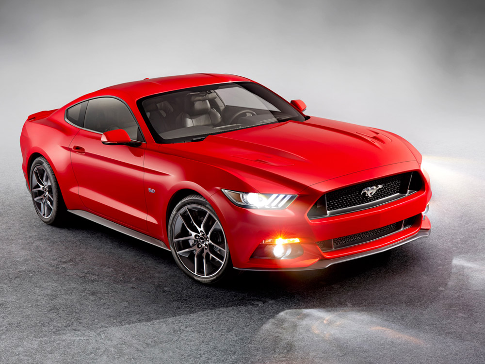 all new 2015 ford mustang named official car of 2014 ces the news wheel. Black Bedroom Furniture Sets. Home Design Ideas