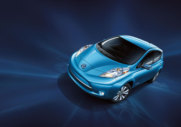 LEAF Sets Annual Sales Record