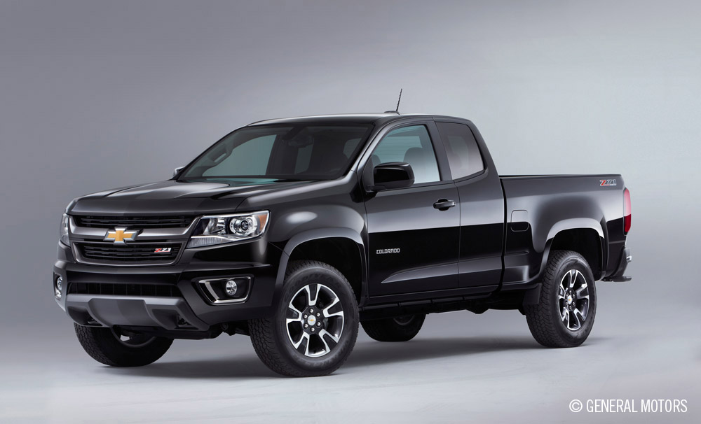 GM Offers Array of 2015 Chevy Colorado Color Options