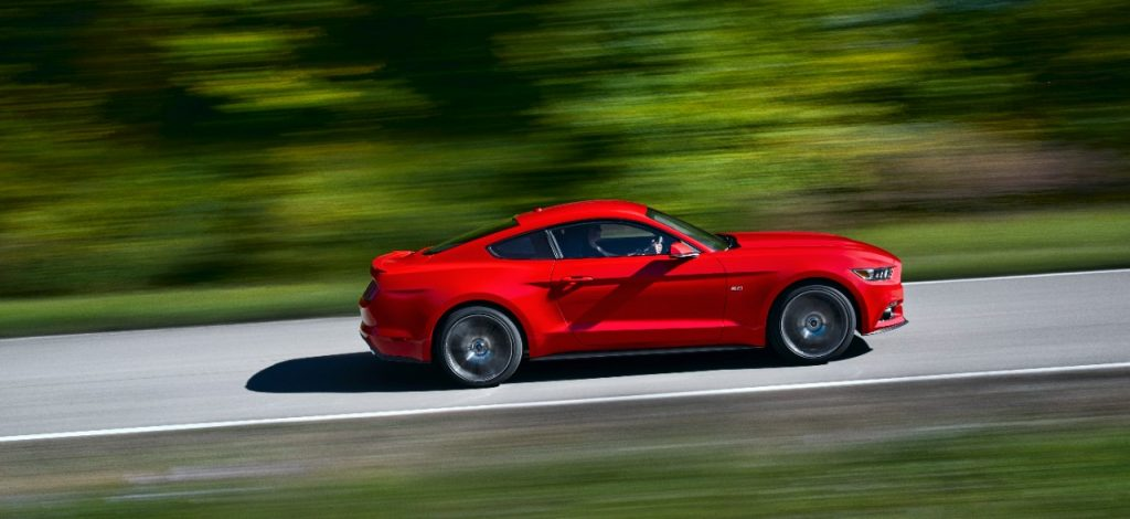 2015 Ford Mustang fastback different from 2015 mustang convertible