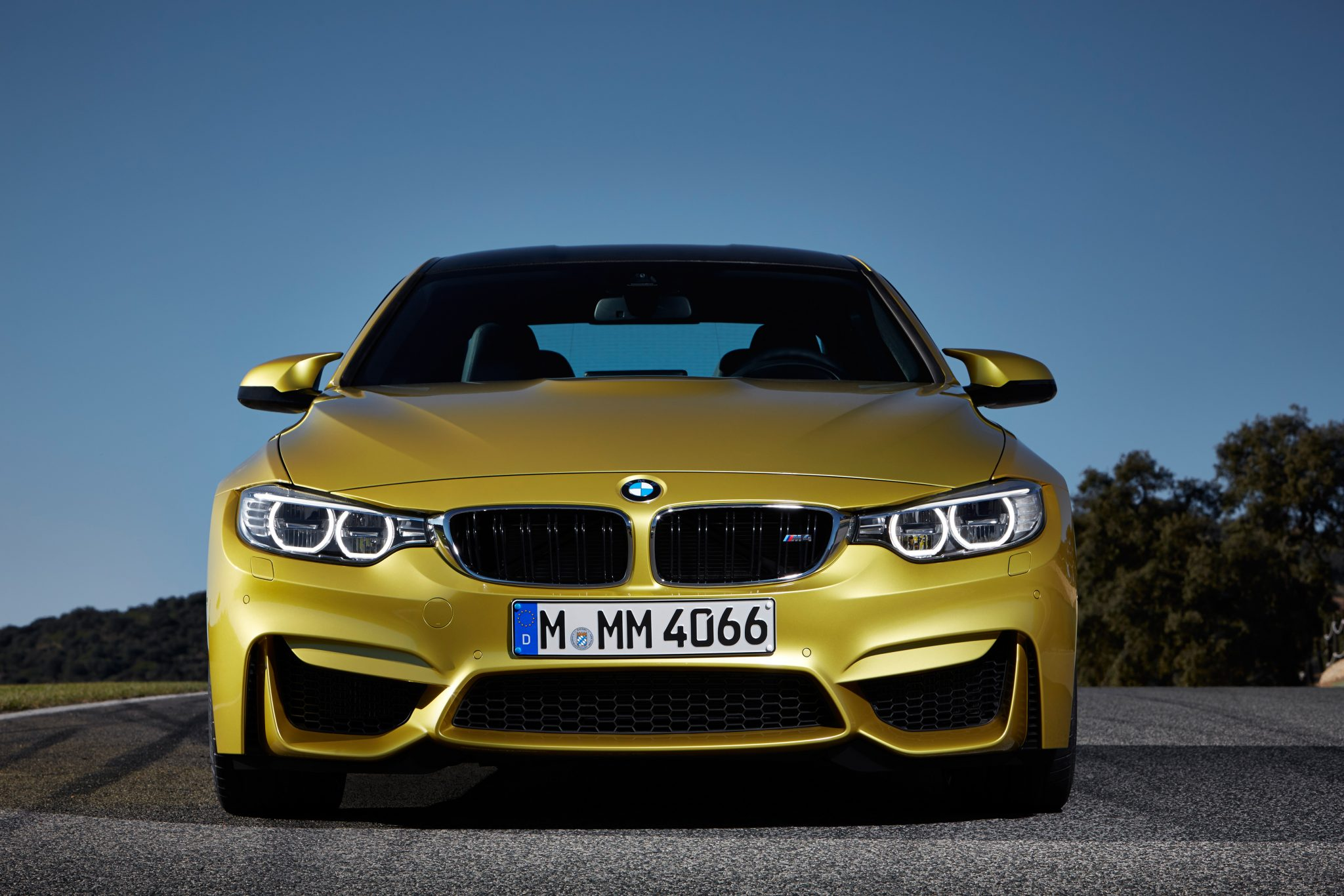 BMW M Coupe Front View The News Wheel - 2013 bmw m4