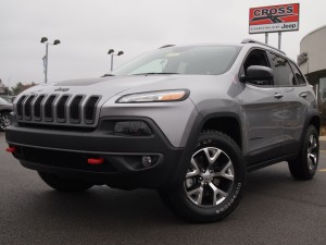 The all-new 2014 Jeep Cherokee was recently named Best New SUV by the AJAC.