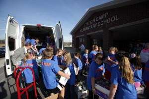 Nissan NV2500 Helps Needy Families
