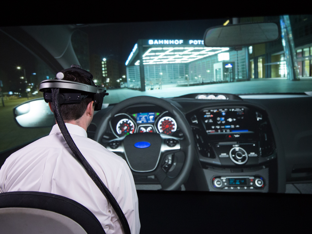 Ford Virtual Reality Lab