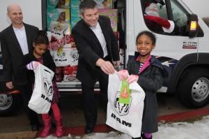 Chrysler Christmas Donations
