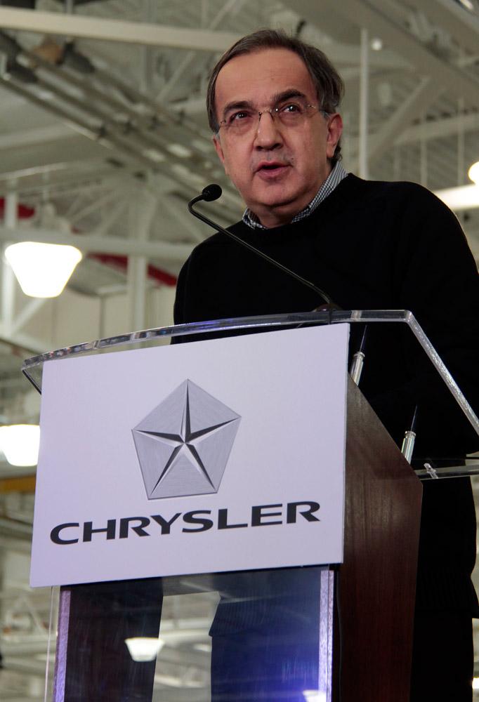 Sergio Marchionne -  Fiat Chrysler Automobiles headquarters