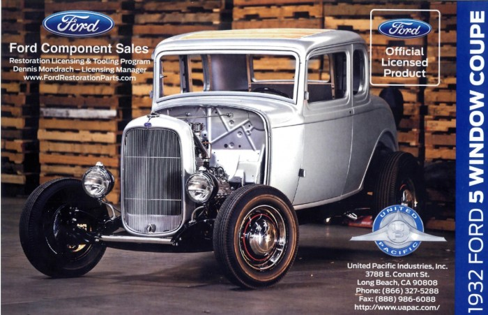 1932 Ford F-5 Window Coupe Body Shell