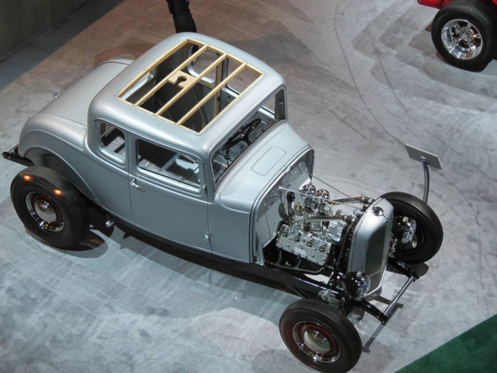 Shells body vintage auto