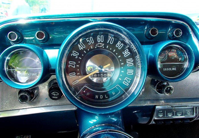 1957 Chevy Bel Air Dashboard