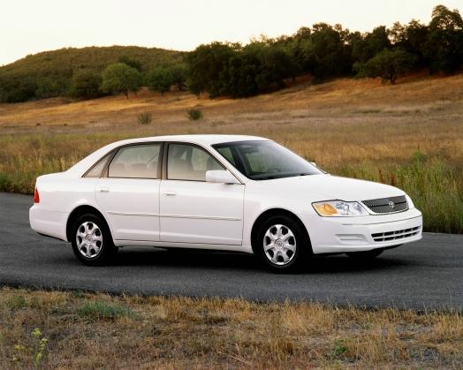2001 Toyota Avalon 500,000 Miles Car