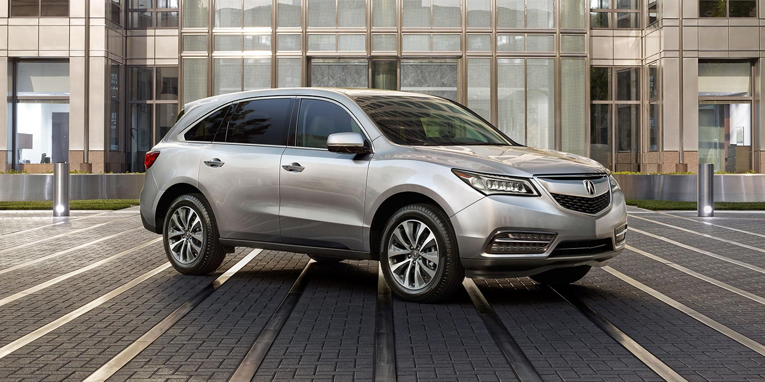 Acura MDX Overview The News Wheel - Acura mdx review 2014