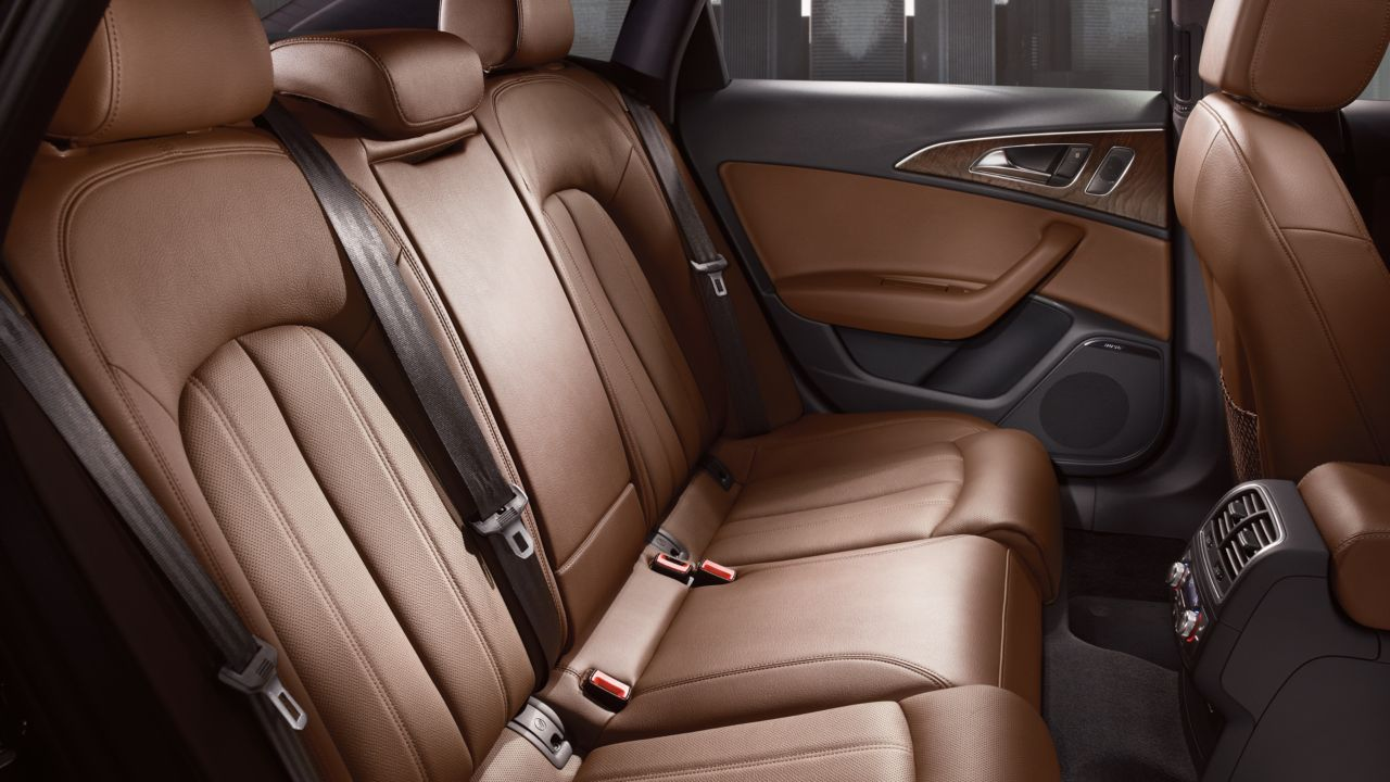 2014 Audi A6 Nougat Brown Leather The News Wheel
