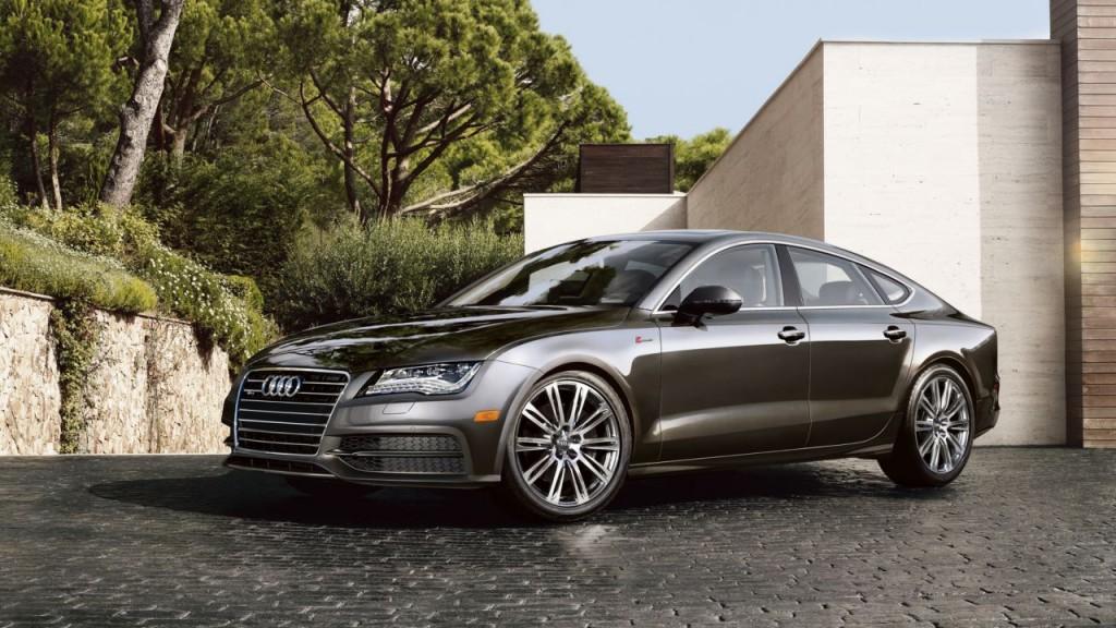 Audi A7 sedan History