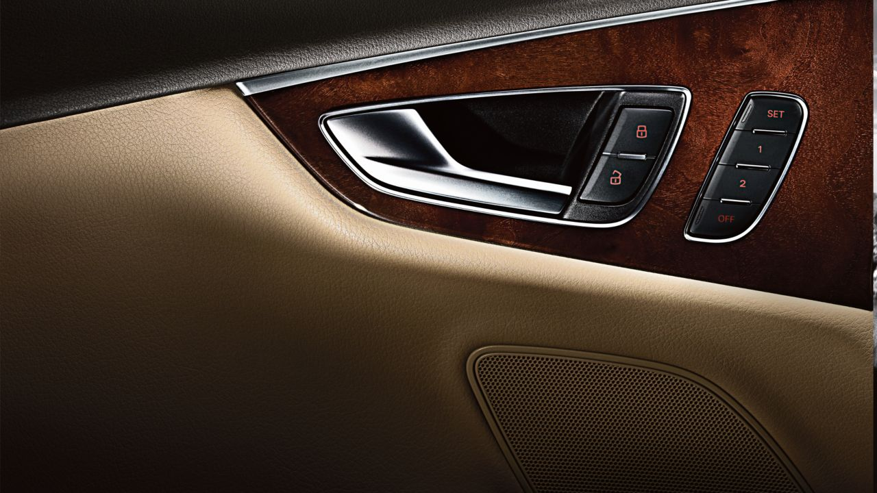 2014 Audi A7 Dark Brown Walnut Wood Inlays The News Wheel
