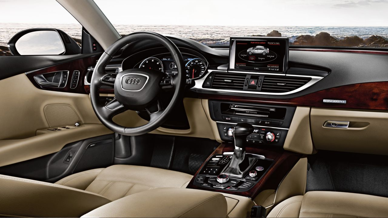 2014 Audi A7 Interior Drive Select The News Wheel