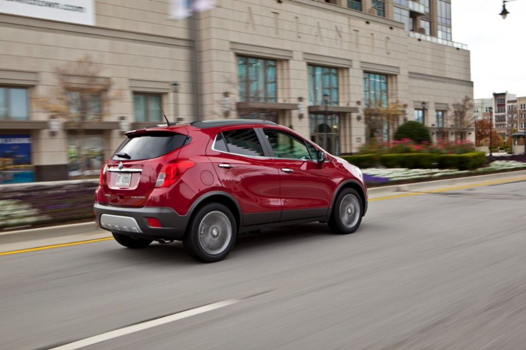 2014 Buick Encore - Buick's April sales