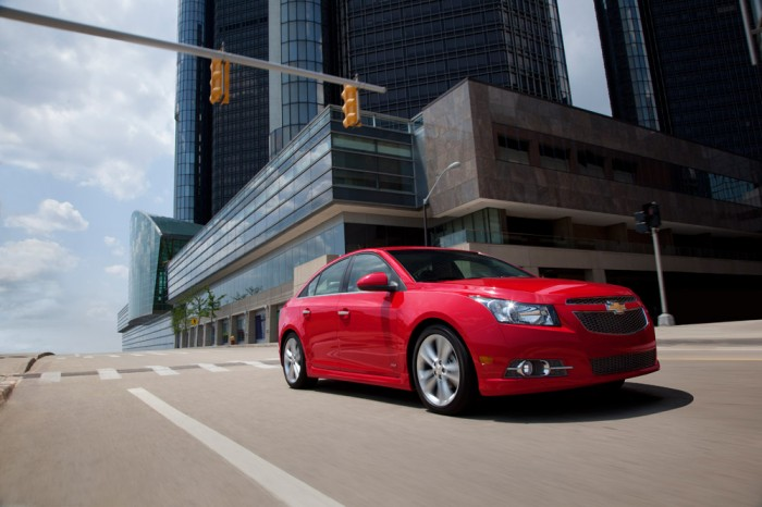 Soon you'll be able to get a Chevy Cruze CNG from Crazy Diamond Performance.