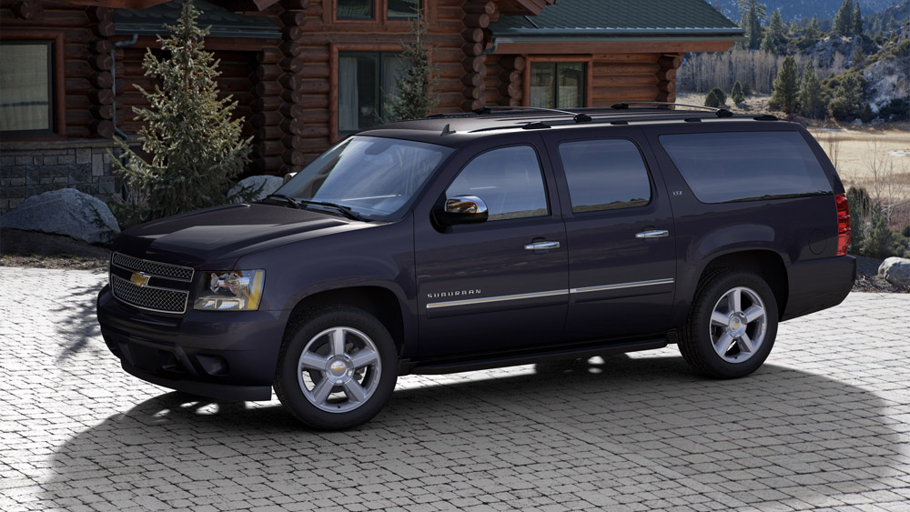 2014 Chevy Suburban Overview - The News Wheel