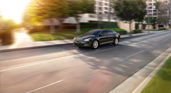 The 2014 LaCrosse helped boost Buick's April sales in the U.S. to new heights.