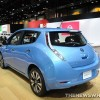 2014 Nissan Leaf Blue