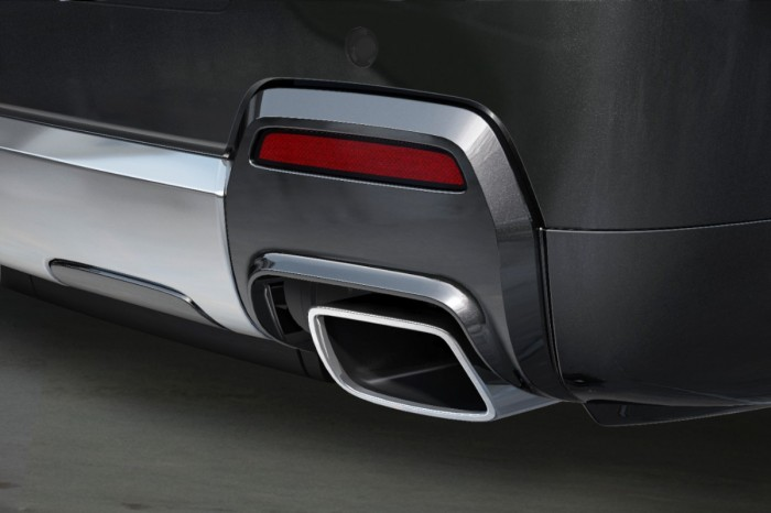 2014 Terrain Denali chrome exhaust