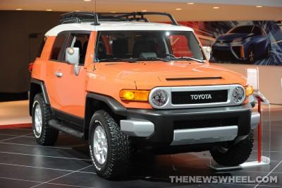 Toyota NAIAS Display: FJ Cruiser