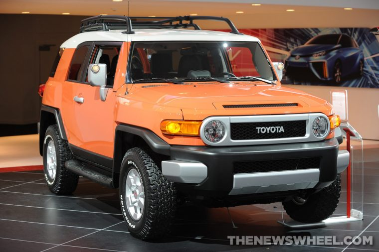Toyota NAIAS Display: FJ Cruiser