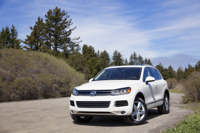 2014 Volkswagen Touareg TDI Overview