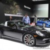 Porsche NAIAS display: 911 Targa 4S