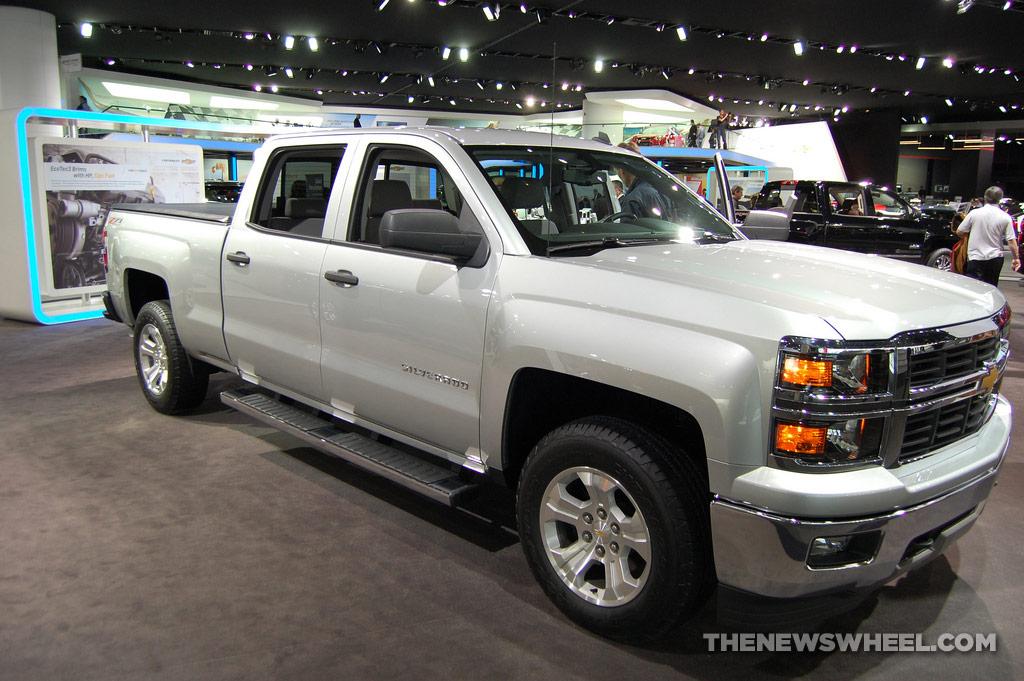 General Motors NAIAS Display: Chevy NAIAS Silverado