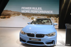 BMW NAIAS Display: BMW M3