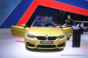 BMW NAIAS Display: M4