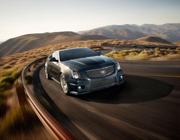 Cadillac CTS-V Coupe History