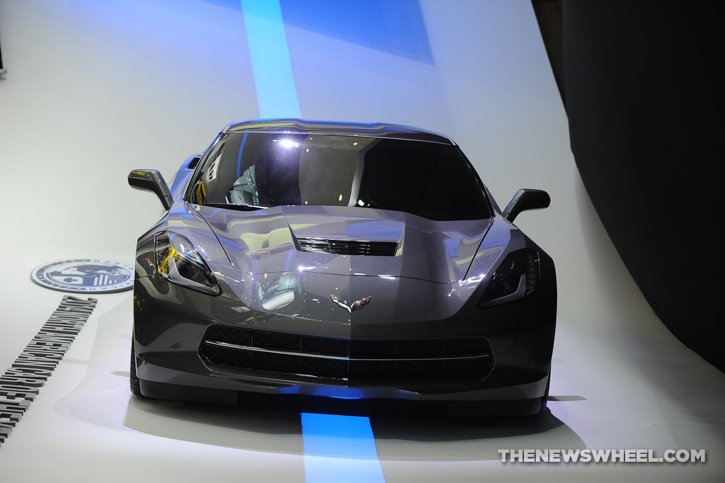 NAIAS Luxury Car Seats: Chevy Corvette Stingray