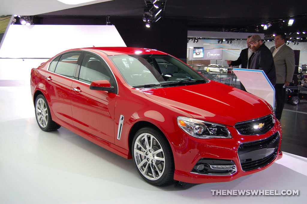 2014, 2015 Chevy SS Color Options