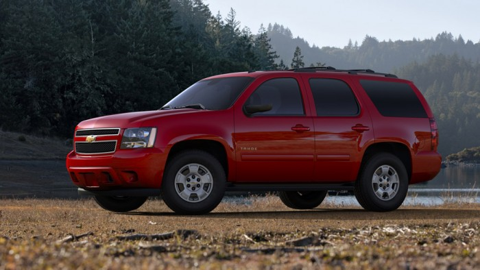 2014 Chevy Tahoe Overview on the News Wheel