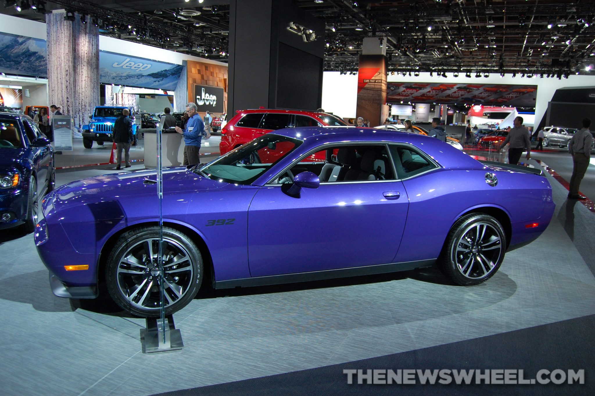Chrysler NAIAS Display: Dodge NAIAS Challenger SRT Core
