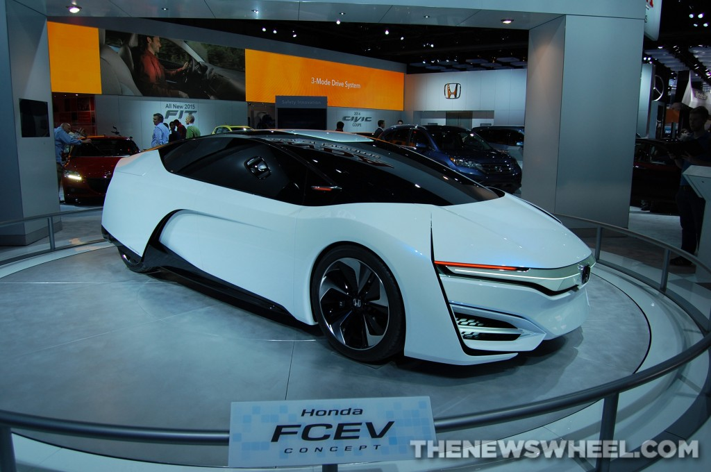 Honda FCEV Concept at 2014 NAIAS