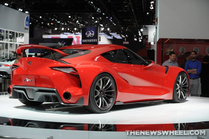 Toyota NAIAS Display: FT-1