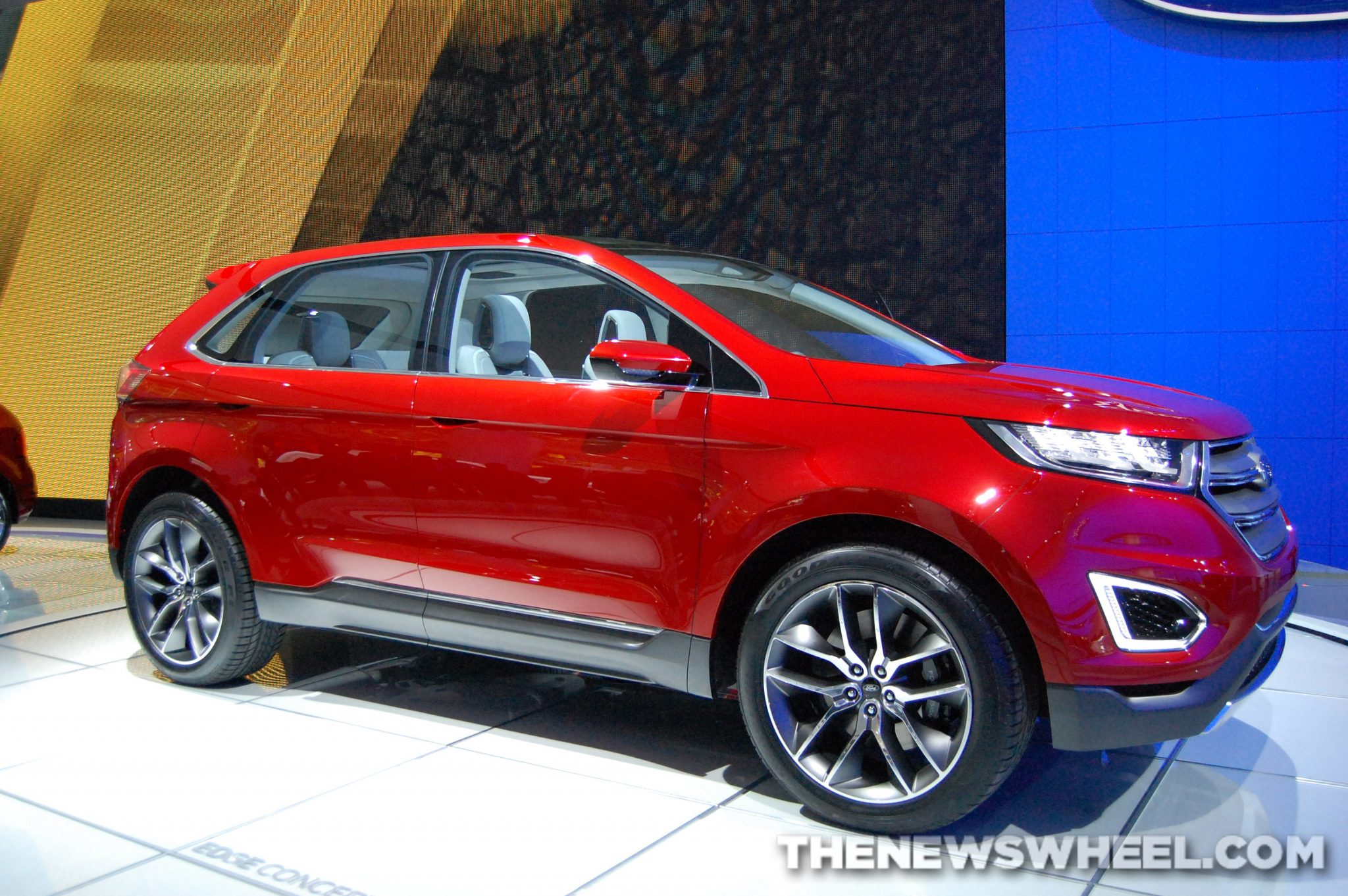 Ford NAIAS display: edge concept