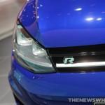 Volkswagen NAIAS Display: Golf R