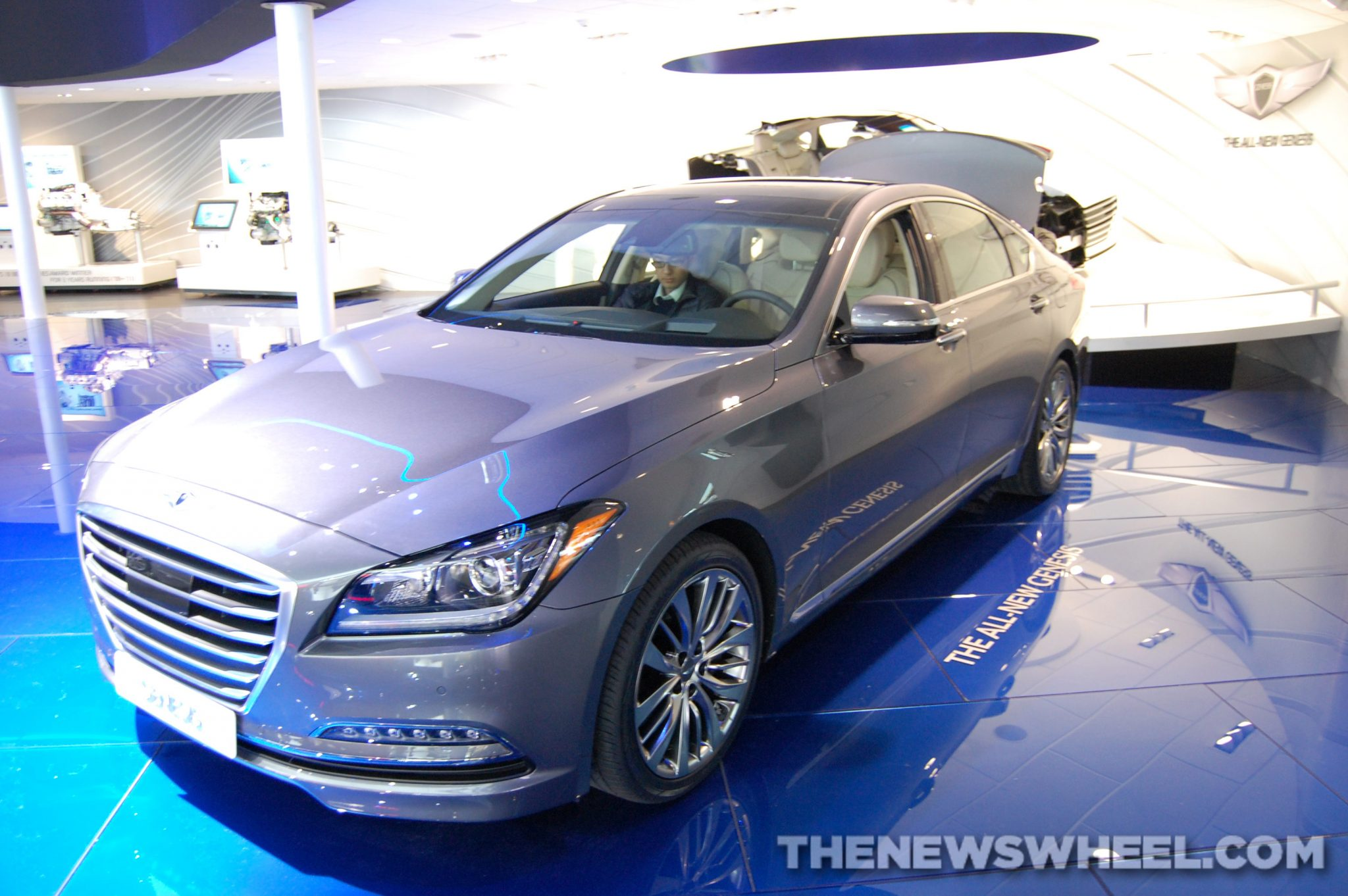 Hyundai NAIAS display: Genesis