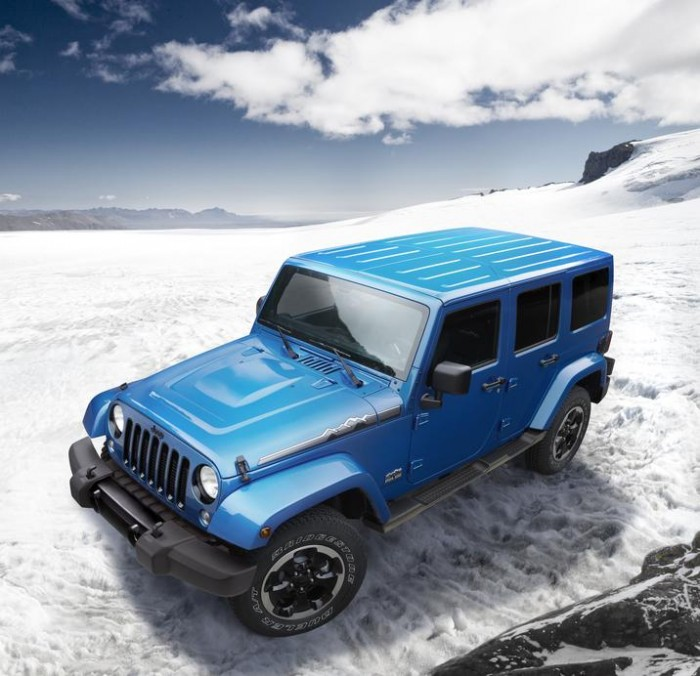 2014 Jeep® Wrangler Polar Edition Ad
