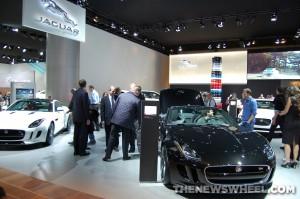 Jaguar NAIAS display