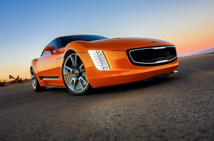 The Kia GT4 Stinger concept | International Design Excellence Awards