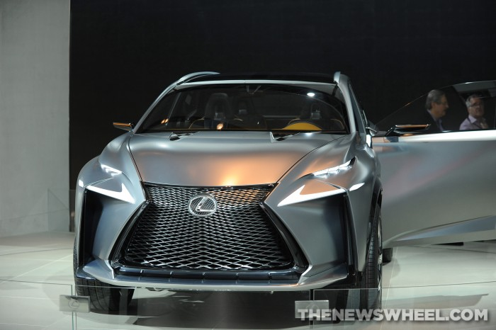 The face of the LF-NX Concept