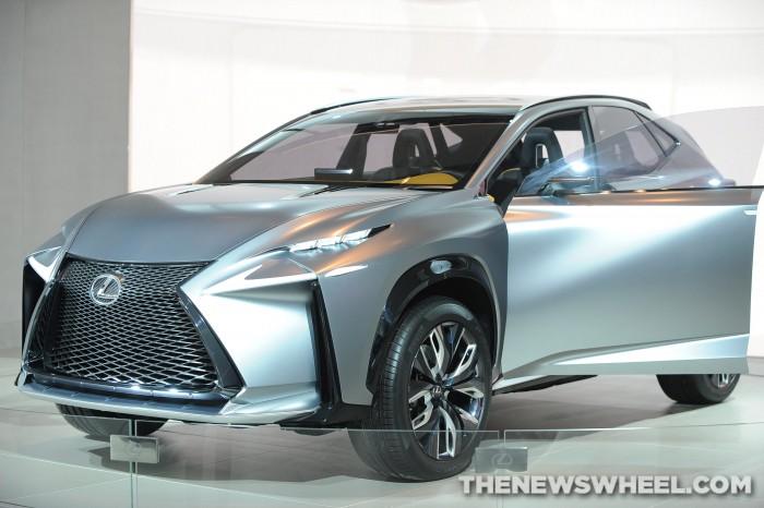 Lexus NAIAS Display: LF-NX Concept