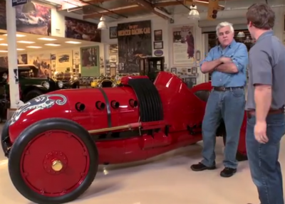 Leno and Sloan*Museum's Jeremy Dimick Talk 1910 Buick Bug