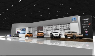 Mopar NAIAS Display