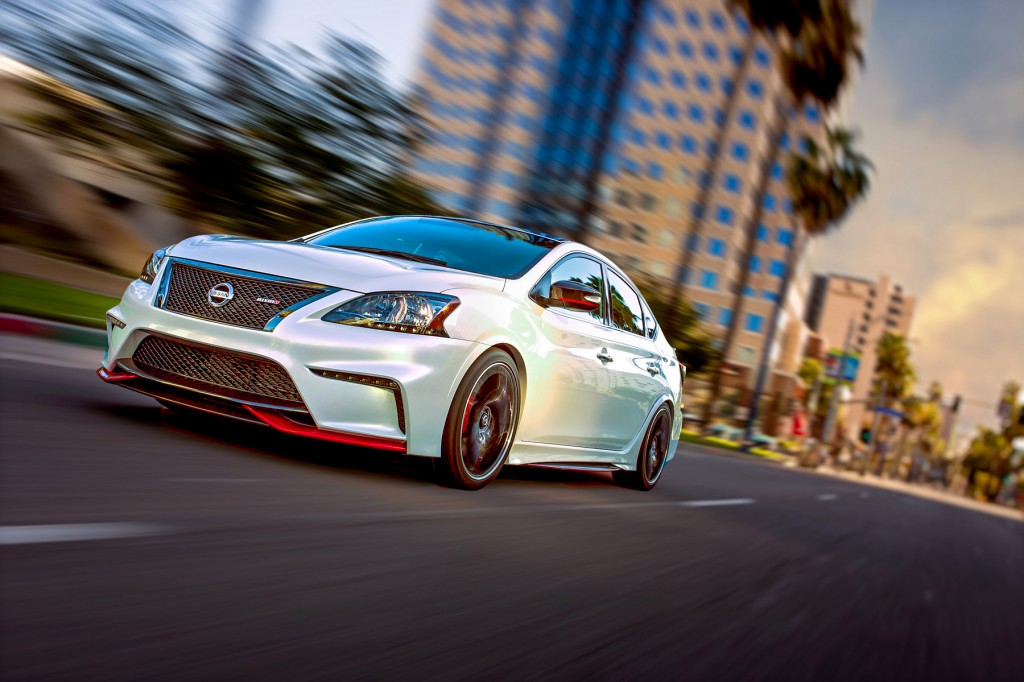Nissan Sentra Nismo Concept Bows At Detroit Auto Show The News Wheel